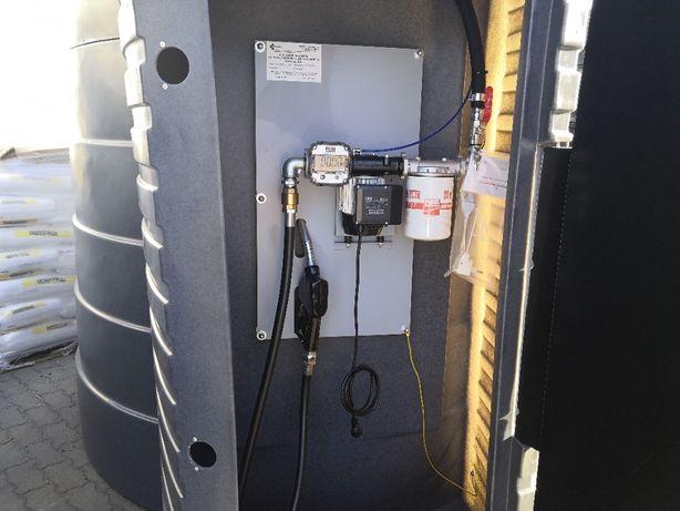 Zbiornik na olej napędowy 2500 L 5000 L paliwo diesel