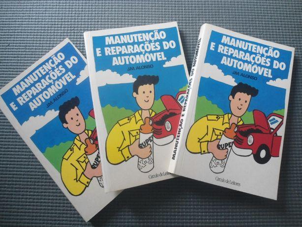 Manutenção e Reparação do Automóvel - J M Alonso (1990)