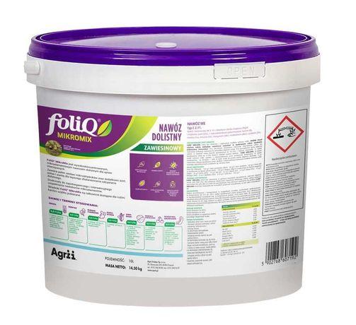 Nawóz dolistny FoliQ® Mikromix 10l = 14,5kg