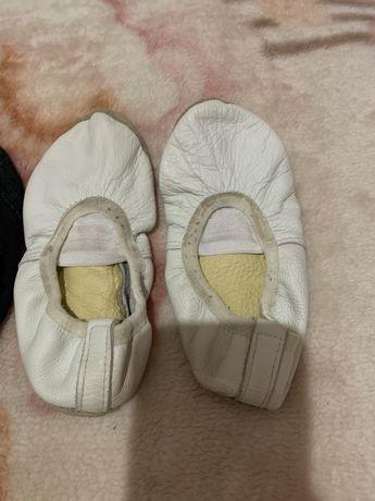 Чешки кожаные балетки
