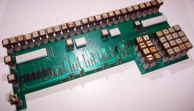 Плата Индикации и Клавиатуры Контроллера uNC 80 фирмы LABOD