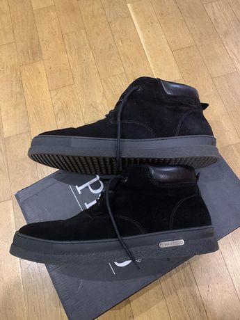 Ботинки мужские нубук