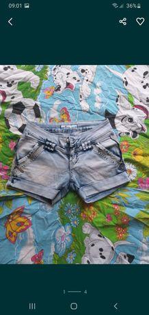 Джинсовые шорты размер 25