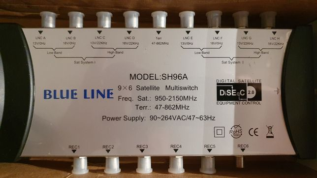 Multiswitch Blue Line 9/6 SH96A.