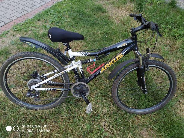 Rower Arkus koła 26 rama 16 + gratisy