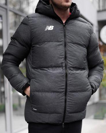 Пуховик Зимняя Куртка Парка New Balance (S-M-L-XL) оригинал!! -20%