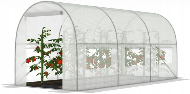 TUNEL Foliowy SZKLARNIA z oknami 2x3m - 6m2 Super Jakość KURIER