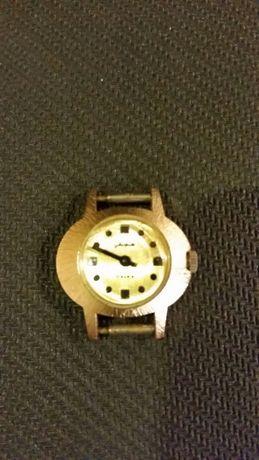"""Pozłacany zegarek,,Glashutte""""17Rubis,made in Germany"""