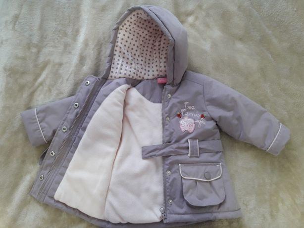 Зимняя куртка на принцессу
