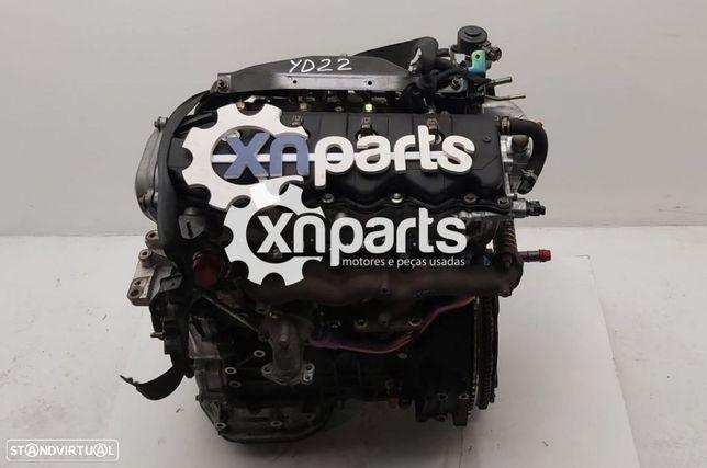 Motor NISSAN X-TRAIL (T30) 2.2 dCi 4x4   12.03 - 01.13 Usado REF. YD22DDTI