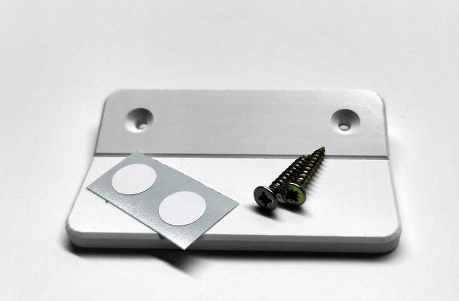 MOCNY NIE PĘKAJĄCY Pochwyt balkonowy uchwyt drzwi balkonowych PCV 5mm