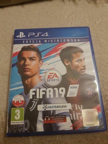 Płyta FIFA 19 Edycja Mistrzowska PS4