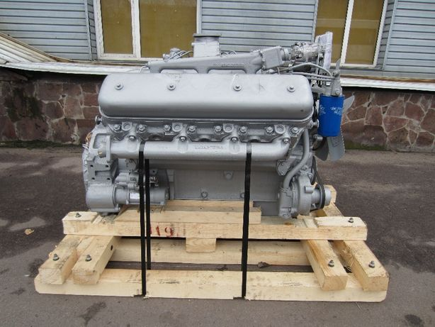 Двигатель ЯМЗ 236, 238, 240 на трактор и комбайн , маз