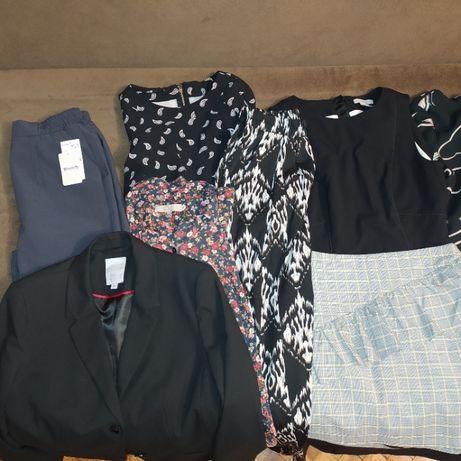 Пакет вещей платья пиджак рубашка юбка джинсы в школу офис XS-S