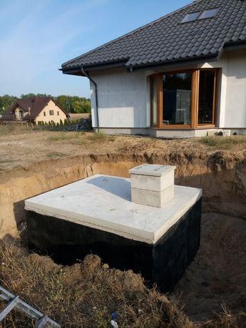 Szambo betonowe 10000 litrów FV Atest