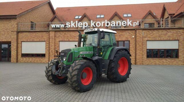 Fendt 818 Vario TMS  ciągnik rolniczy, traktor Fendt 818 Vario TMS