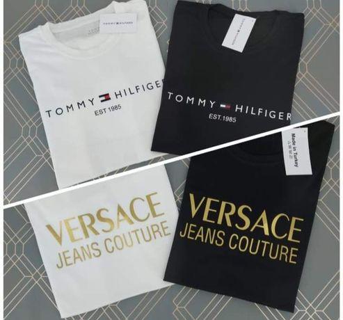 Koszulki damskie i męskie jakość Premium wyprzedaż Tommy Hilfiger
