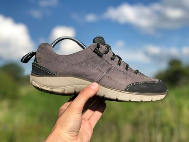 Clarks wave walk gore-tex демісезонні шкіряні кросівки оригінал