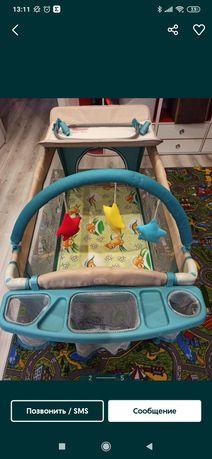 Кровать- манеж детская milly mally