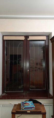 Окна деревянные, евробрус