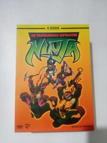 Pack 4 DVD: As Tartarugas Mutantes Ninja, série 5