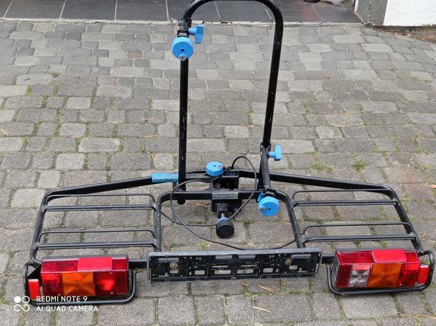Sprzedam bagażnik rowerowy na hak na 2 rowery uchylny