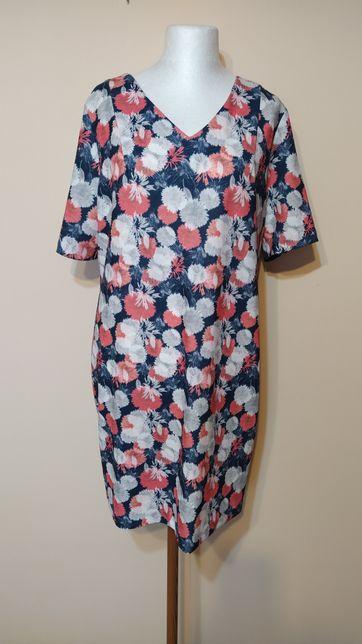 Sukienka w kwiaty Quiosque roz. 48