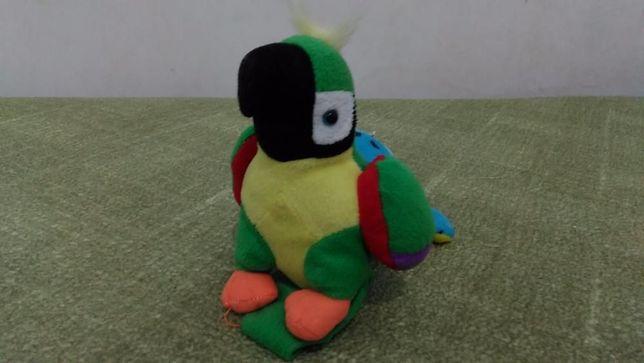 Мягкая игрушка Попугай 20 см.