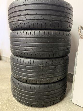 4x Opony letnie 225/55R16 Continental PremiumContact 2 2014r