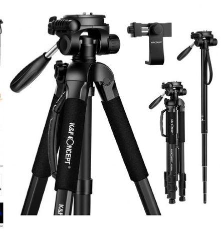tripod monopod statyw aparat kamera 177 cm kf concept