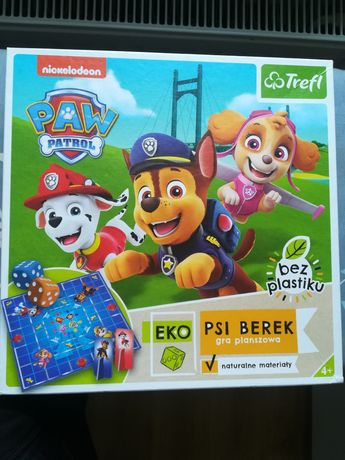Gra dla dzieci Psi patrol eko berek