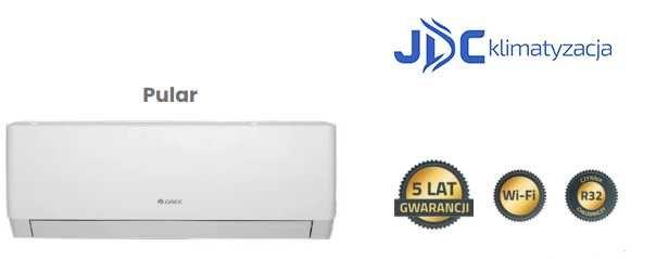 Klimatyzator GREE Pular 3.5kW montaż Klimatyzacja w domu i mieszkaniu
