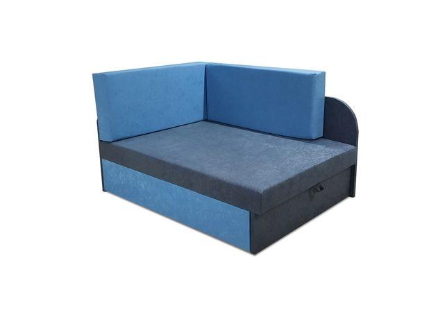 Narożnik Dziecięcy Kubuś Łóżko Jednoosobowe Fotel Sofa