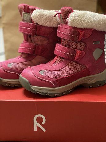 Ботинки,сапоги детские для девочки зимние Reimatec  в размере 30 б/у.