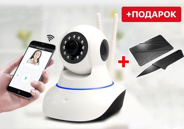 IP камера видеонаблюдения Wi-fi Smart Net Q6. Беспроводная камера