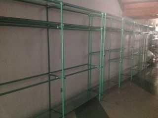 Estantes mobiliário de loja
