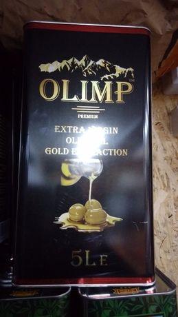 Оливковое масло 5 л OLIMP Extra Virgin экста-класса холодная экстракци