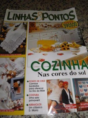 Revista Linhas & Pontos - Ponto de Cruz