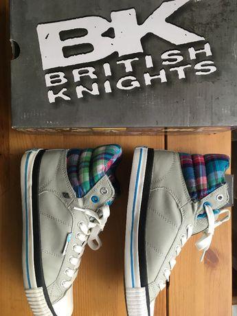 nowe buty British Knights rozmiar 38, sneakersy wysokie