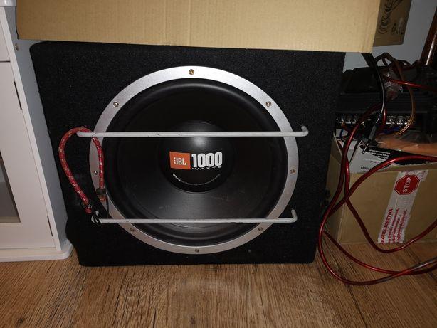 Skrzynia/głośnik i wzmacniacz JBL (bez bass refleksu)