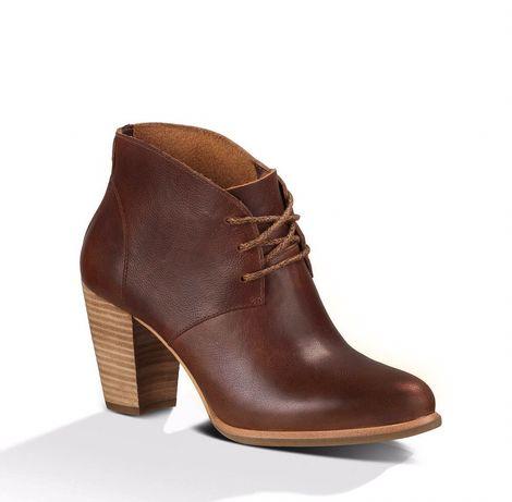 Новые кожаные ботильоны (ботинки, ботиночки) UGG Mackie, 36