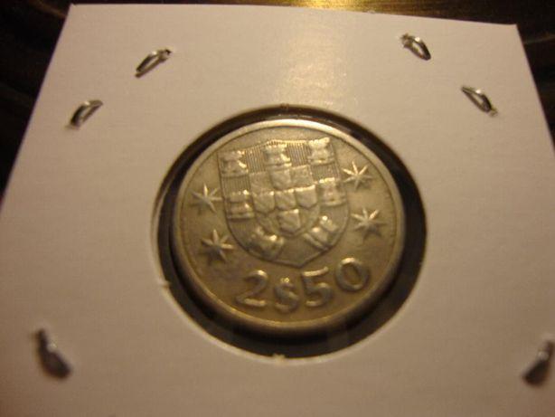 Moeda 2$50 Cupro-Níquel 1963