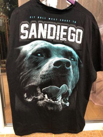 Sprzedam koszulkę pitbull rozmiar 2XL