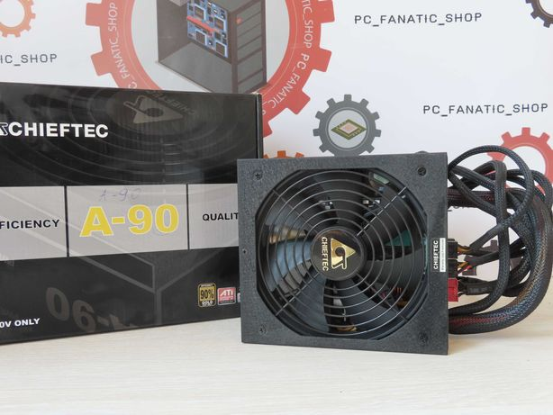 Блок питания  Chieftec A-90 750W/PC_fanatics_shop/Гарантія