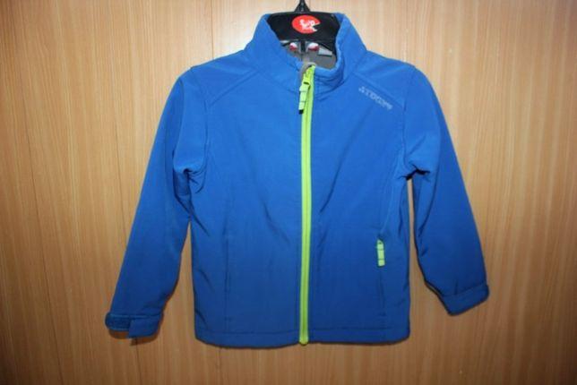 Куртка ветровка синяя на мальчика 4-5 лет