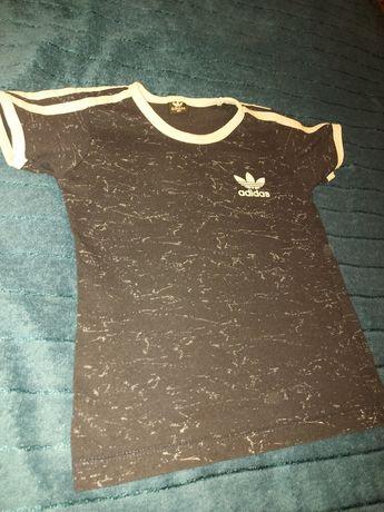 Adidas T-shirt granatowy rozmiar 104 cm