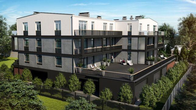 Mieszkanie/Apartament 71,8m2/Taras 66,1m2/Wiata garażowa/Pabianice