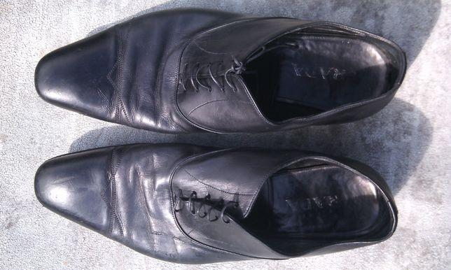 Туфли кожаные мужские Prada( Original) 11 1/2 б/у