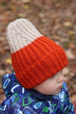 Стильная детская шапка Hand Made