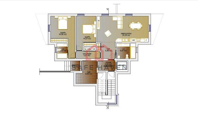 Apartamento T2 Venda em Mangualde, Mesquitela e Cunha Alta,Mangualde
